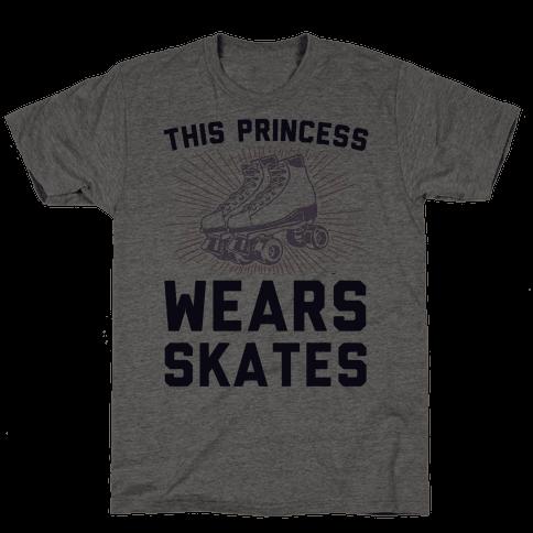 This Princess Wears Skates Mens T-Shirt