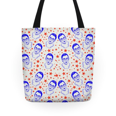 Red White and RBG Tote
