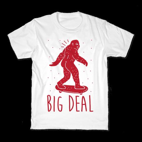 Big Deal Bigfoot Kids T-Shirt