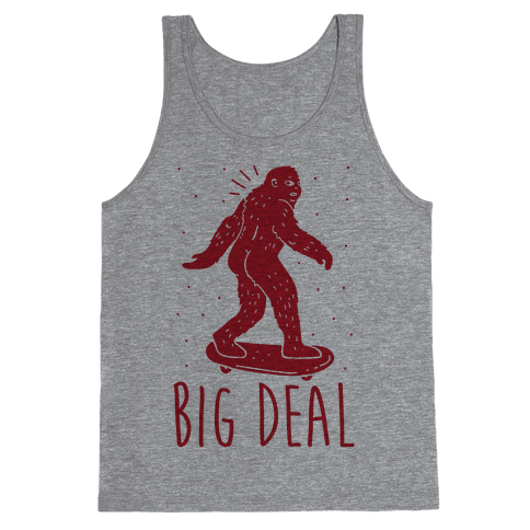 Big Deal Bigfoot Tank Top