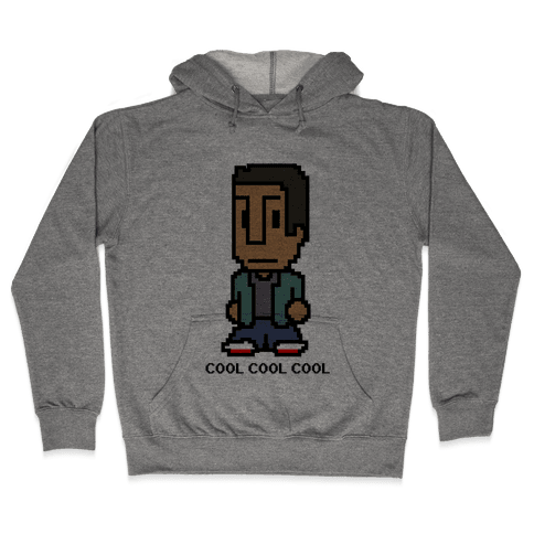 8-bit Abed Hooded Sweatshirt