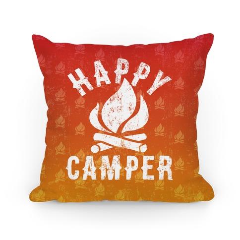 Happy Camper Pillow Pillow