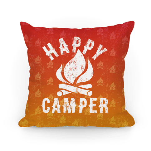 Happy Camper Pillow Pillow