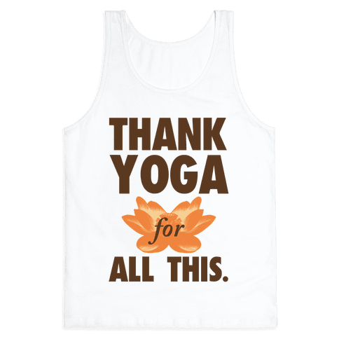 Thank Yoga Tank Top
