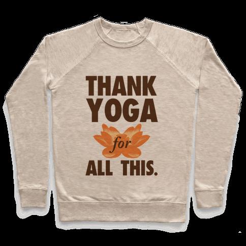 Thank Yoga Pullover