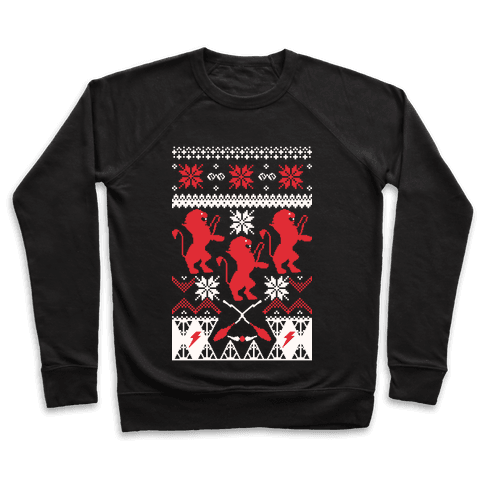 Hogwarts Ugly Christmas Sweater: Gryffindor Pullover