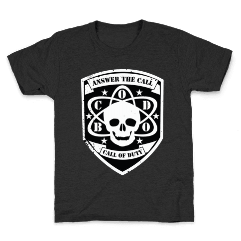Answer The Call Of Duty Kids T-Shirt