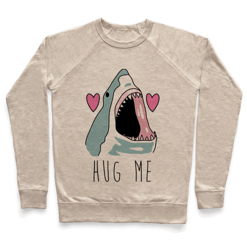 Hug Me Shark Pullover