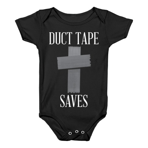 Duct Tape Saves Baby Onesy