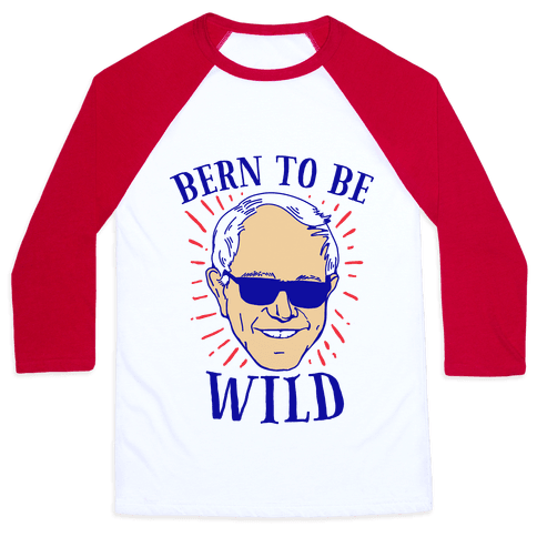 Bern to be Wild Baseball Tee