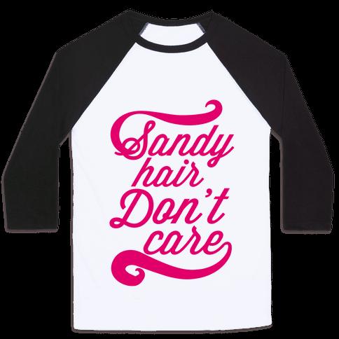 Sandy Hair Baseball Tee