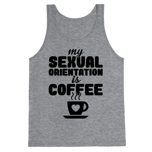 Sexual Coffee Tank Top