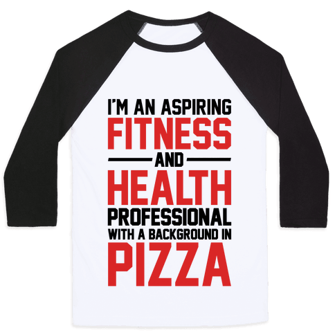 Professional Pizza Trainer Baseball Tee