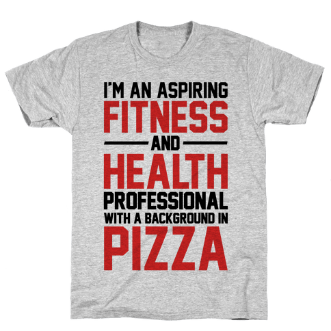 Professional Pizza Trainer Mens T-Shirt