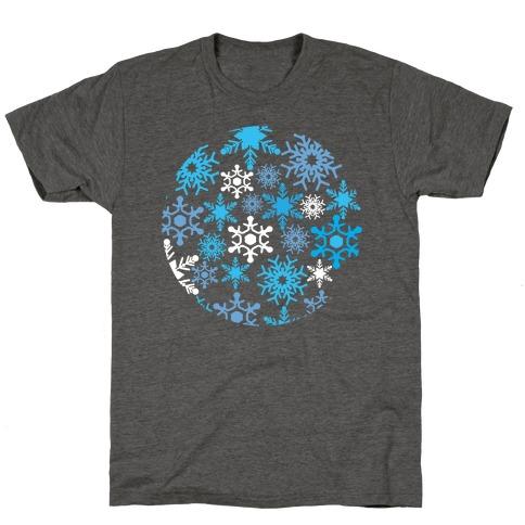 Snowflake Sphere T-Shirt