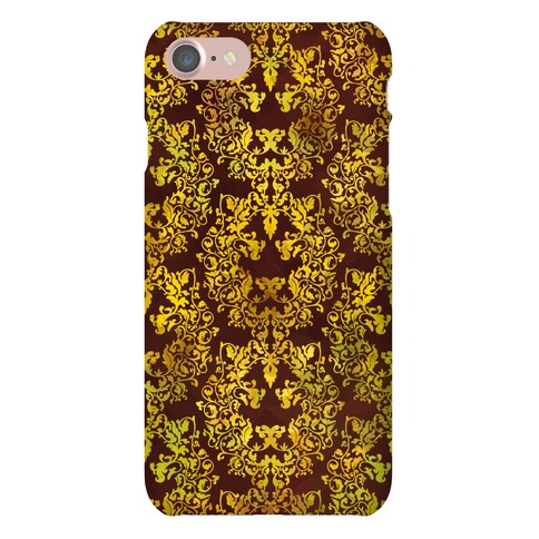 Floral Lion Phone Case