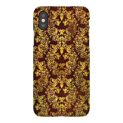 Floral Lion Phone Case