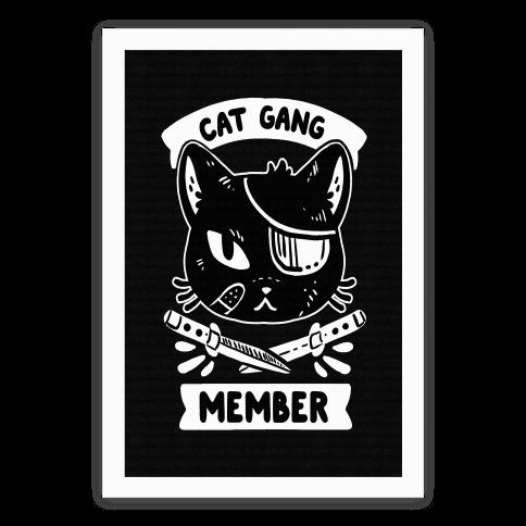 Cat Gang Member Poster