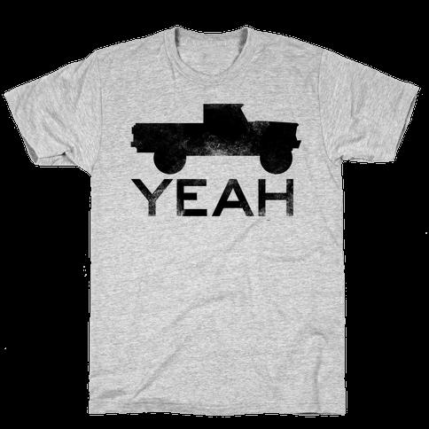 Truck Yeah Hoodie Mens T-Shirt