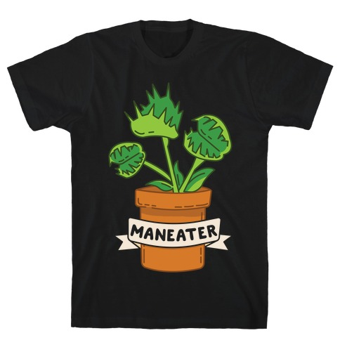 Maneater (Venus Fly Trap) Mens T-Shirt