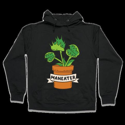 Maneater (Venus Fly Trap) Hooded Sweatshirt