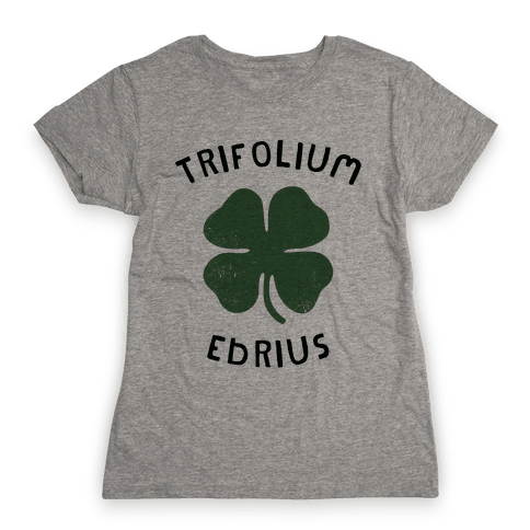 Drunken Botany (St. Patrick's Day) Womens T-Shirt