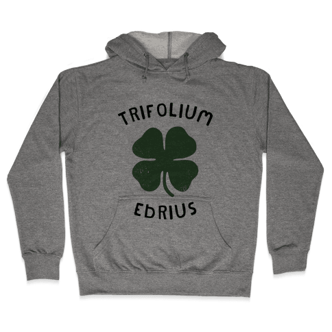 Drunken Botany (St. Patrick's Day) Hooded Sweatshirt