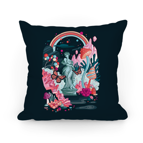 Sugar Witch's Labyrinth Pillow