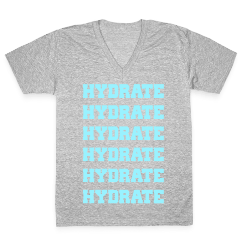 Hydrate V-Neck Tee Shirt