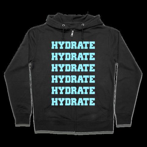 Hydrate Zip Hoodie