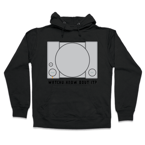 Playing Station Hooded Sweatshirt