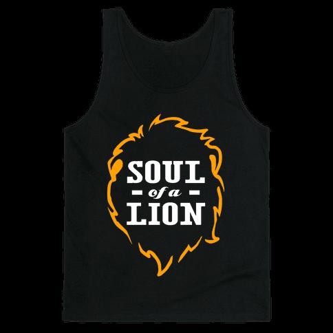 Soul of a Lion Tank Top