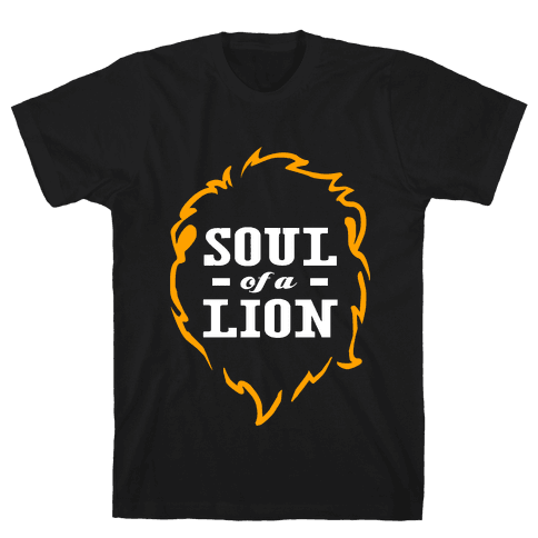 Soul of a Lion Mens T-Shirt