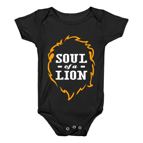 Soul of a Lion Baby Onesy