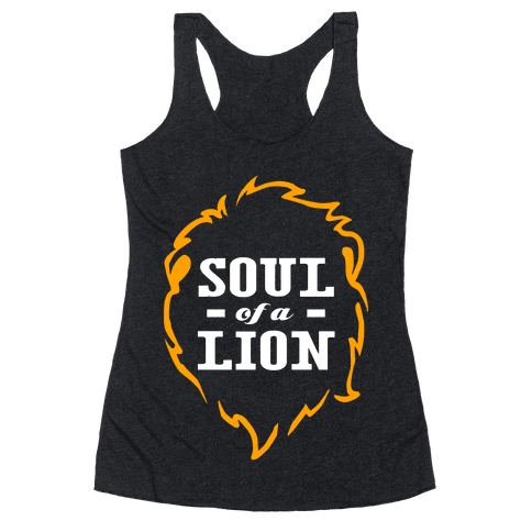 Soul of a Lion Racerback Tank Top