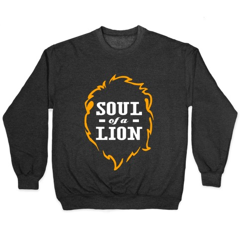Soul of a Lion Pullover