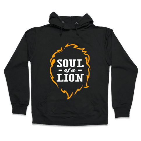 Soul of a Lion Hooded Sweatshirt