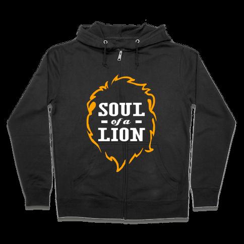Soul of a Lion Zip Hoodie
