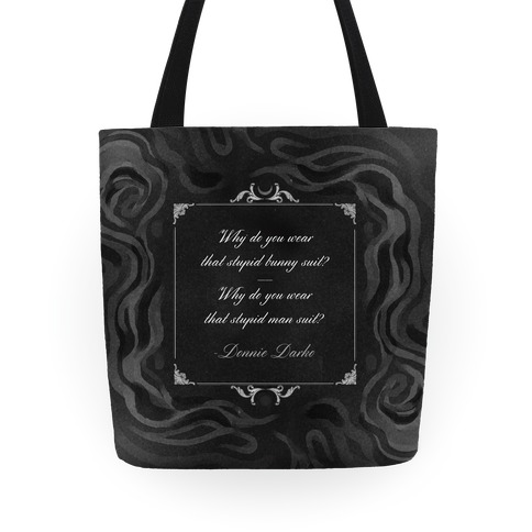 Donnie Darko Quote Tote Tote