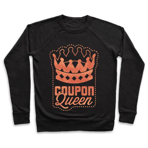 Queen of the Coupons (Dark) Pullover