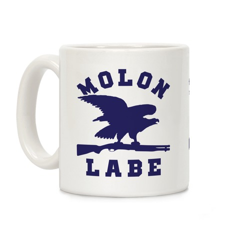 Molon Labe Eagle Coffee Mug