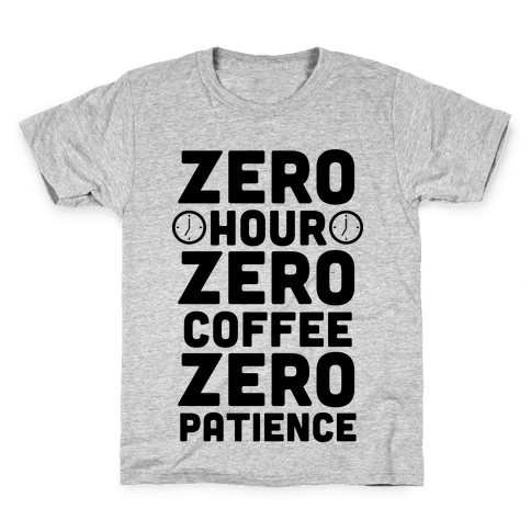 Zero Hour Kids T-Shirt