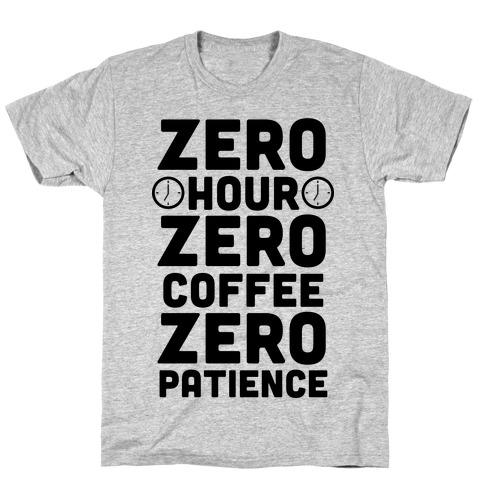 Zero Hour T-Shirt