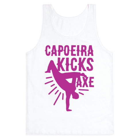 Capoeira Kicks Axe Tank Top