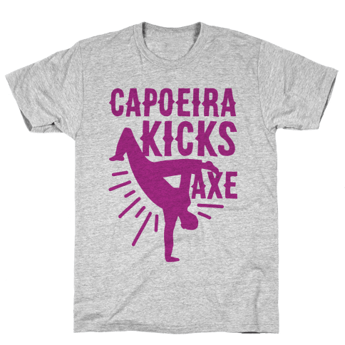 Capoeira Kicks Axe Mens T-Shirt
