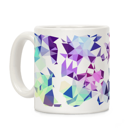 Rainbow Geometry Coffee Mug