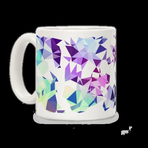 Rainbow Geometry Coffee Mug