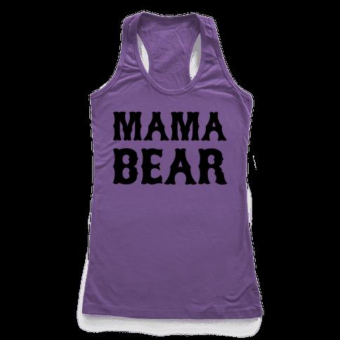 Mama Bear Racerback Tank Top