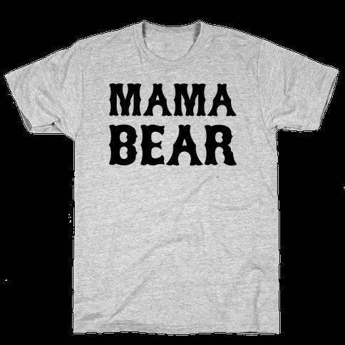 Mama Bear Mens T-Shirt