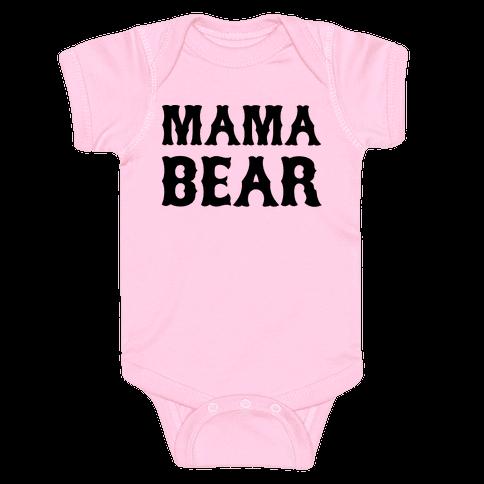 Mama Bear Baby Onesy
